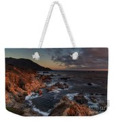 Pacific Coast Golden Light Weekender Tote Bag