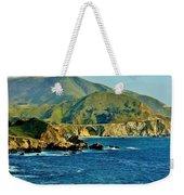 Pacific Coast Panorama Weekender Tote Bag by Benjamin Yeager