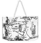 Pacific Grove And Vicinity  Monterey Peninsula California  Circa 1880 Weekender Tote Bag