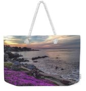 Sunset In Pacific Grove Weekender Tote Bag