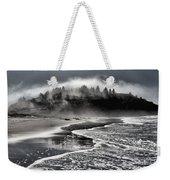Pacific Island Fog Weekender Tote Bag