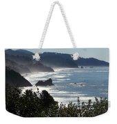 Pacific Mist Weekender Tote Bag by Karen Wiles