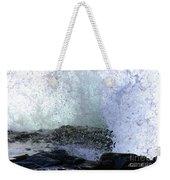 Pacific Ocean Wave Splash Weekender Tote Bag