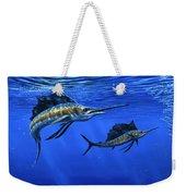 Pacific Sailfish Weekender Tote Bag