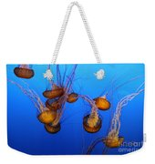 Pacific Sea Nettles Weekender Tote Bag