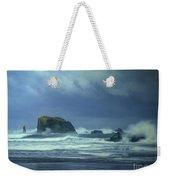 Pacific Storm Bandon Beach Oregon Weekender Tote Bag