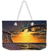 Pacific Sunset By Diana Sainz Weekender Tote Bag