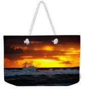 Pacific Sunset Drama Weekender Tote Bag