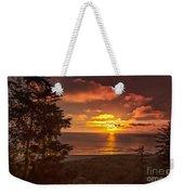 Pacific Sunset Weekender Tote Bag by Robert Bales