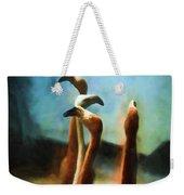 Pack Of Pelicans Weekender Tote Bag