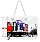 Pack Place Asheville In High Contrast Weekender Tote Bag