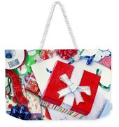 Packages Boxes And Bags Weekender Tote Bag
