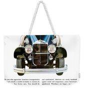 Packard Automobile - Vintage Poster Weekender Tote Bag