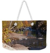Packard Hill Bridge Lebanon New Hampshire Weekender Tote Bag by Edward Fielding