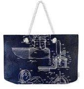 Packard Hood Ornament Blue Weekender Tote Bag