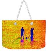 Paddle Board Paradise Weekender Tote Bag