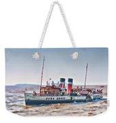 Paddle Steamer Waverley Weekender Tote Bag