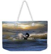 Natutical Jesus Weekender Tote Bag