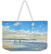 Paddling At The Edge Weekender Tote Bag