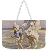 Paddling Weekender Tote Bag by William Kay Blacklock
