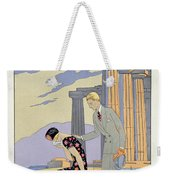 Paestum Weekender Tote Bag by Georges Barbier