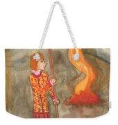 Page Of Wands Weekender Tote Bag