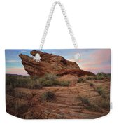 Page Sunrise Rock Weekender Tote Bag