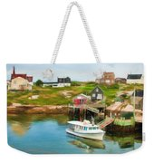 Peggy's Cove Boat Tours Weekender Tote Bag