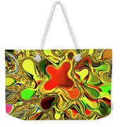 Paint Ball Color Explosion Weekender Tote Bag by Andee Design
