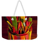 Paint Can And Paint Brushes Still Life Weekender Tote Bag