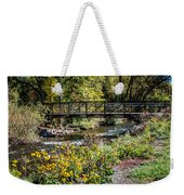 Paint Creek Bridge Weekender Tote Bag