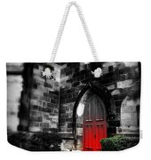 Paint It Black Weekender Tote Bag