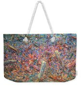 Paint Number 37 Weekender Tote Bag by James W Johnson