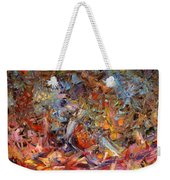 Paint Number 43a Weekender Tote Bag by James W Johnson