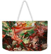 Paint Number 48 Weekender Tote Bag by James W Johnson