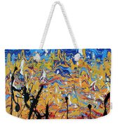 Paint Number Fifteen Weekender Tote Bag