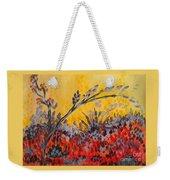 Paintbrush Astray Weekender Tote Bag