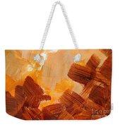 Painted Background Texture Weekender Tote Bag