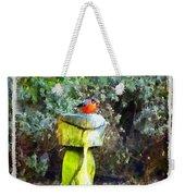 Painted Bullfinch Trio Weekender Tote Bag