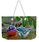 Painted Bunting & Cerulean Warbler Weekender Tote Bag