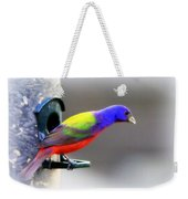 Painted Bunting - Img 9755-004 Weekender Tote Bag