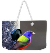 Painted Bunting - Img 9757-002 Weekender Tote Bag