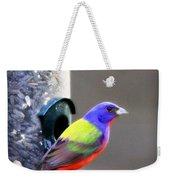 Painted Bunting - Img_9756-004 Weekender Tote Bag