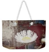 Painted Flower Weekender Tote Bag