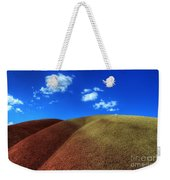 Painted Hills Blue Sky 1 Weekender Tote Bag