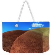Painted Hills Blue Sky 2 Weekender Tote Bag