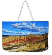 Painted Hills Blue Sky 3 Weekender Tote Bag