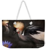 Painted Islands Of Summer Lilies Weekender Tote Bag by Sharon Mau