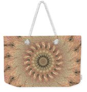 Painted Kaleidoscope 1 Weekender Tote Bag