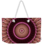 Painted Kaleidoscope 14 Weekender Tote Bag